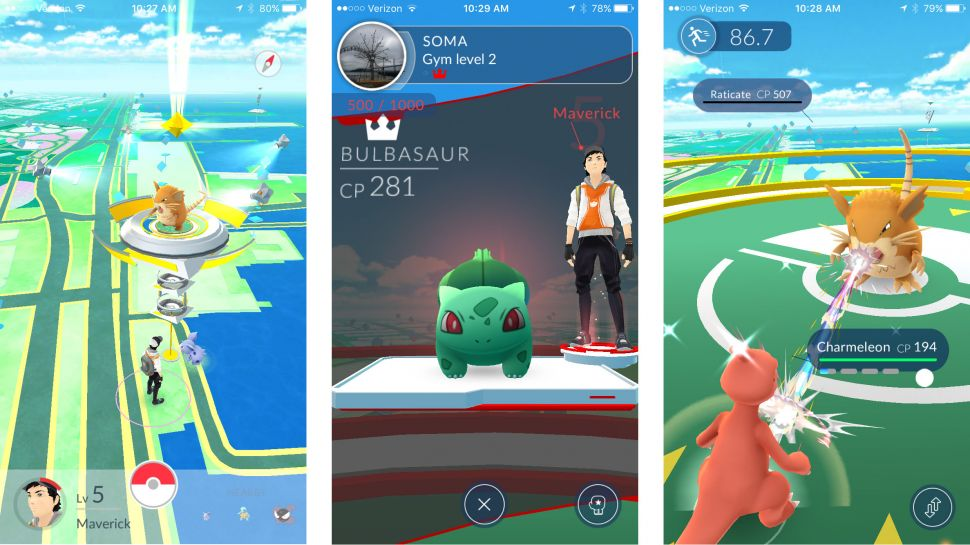Battle PokeGym Pokemon GO 1